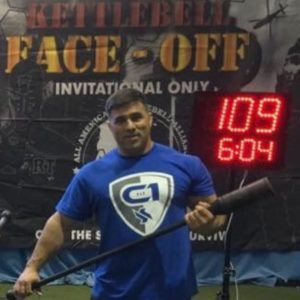 Chris Gilbert - O'Fallon Ill Area Chris owns and operates C-1 Fit in O'Fallon. His approach to fitness is to be ready for anything that comes at you. Chris also competes in the Vintage Strength Games competitions and is a VSG Certified Club and Mace Instructor.