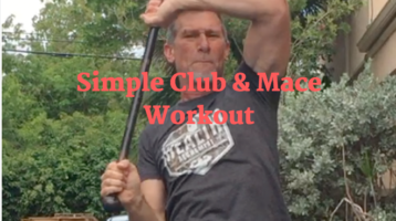 Simple Club & Mace Workout